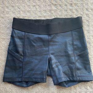Lululemon spandex athletic shorts